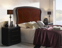 Cabecero madera  tapizado o forja SOM71 - Cabecero madera tapizado o marquetería, ref 71