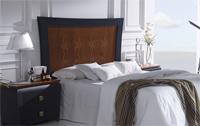 Cabecero madera y tapizado SOM68 - Cabecero madera tapizado ref 68