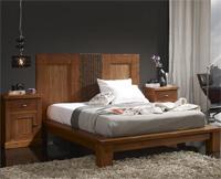 Cabecero madera y fibra vegetal SOM47 - Cabecero madera  fibra vegetal SOM47
