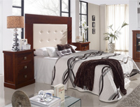 Cabecero madera  tapizado, marquetería o forja SOM79 - Cabecero madera  tapizado, marquetería o forja SOM79