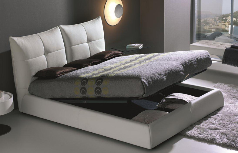 Cama canap acolchada y moderna ang muebles madrid for Canape bases ideas