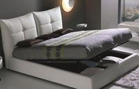Cama canapé acolchada y moderna - Cama con canapé y acolchada