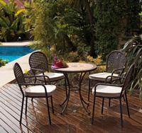 Set sillas y mesa mosaico modelo CANNES/BELFAST - Set sillas y mesa mosaico modelo CANNES/BELFAST