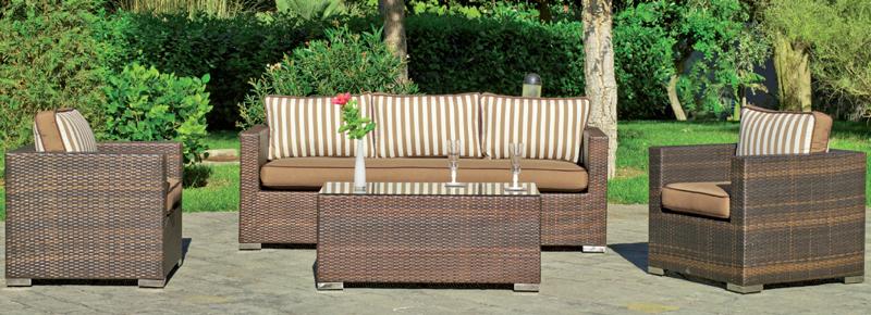 Sof elegante dise o moderno malaga alicante - Sillones para jardin exterior ...