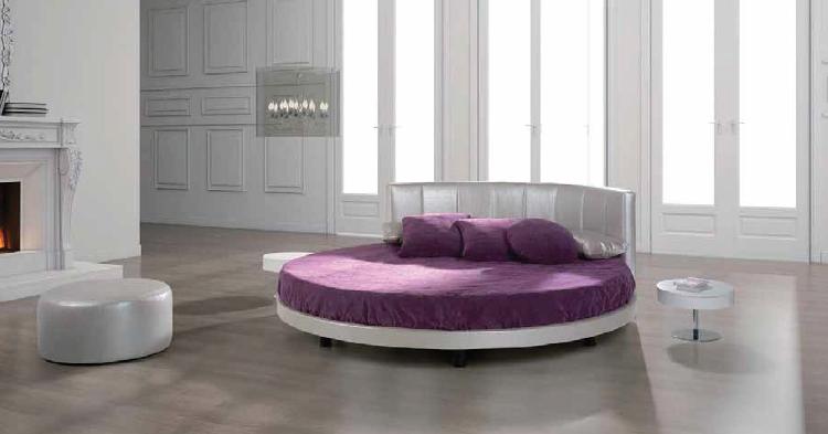 cama redonda lujosa original nueva temporada