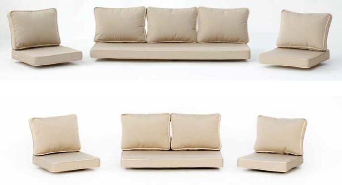 Gazebo estructura de acero resistente al viento for Sofa exterior leroy