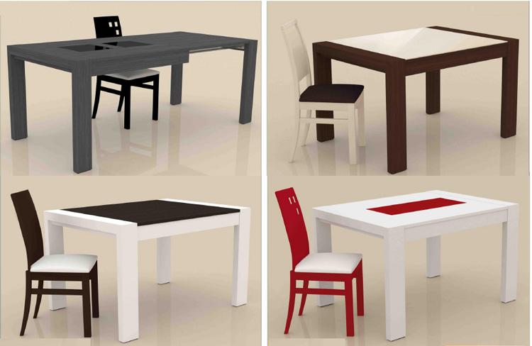 Mesa de comedor melamina rectangulae - Mesas de comedor economicas ...