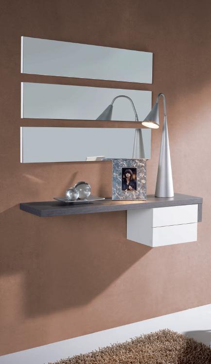 Recibidor juego espejos horizontales barato soria gijon for Espejos recibidor baratos