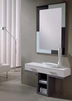 Recibidor con espejo 8 - Recibidor bonito diseño con espejo