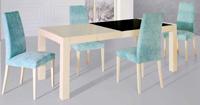 Mesa de comedor y sillas 521 - Mesa moderna