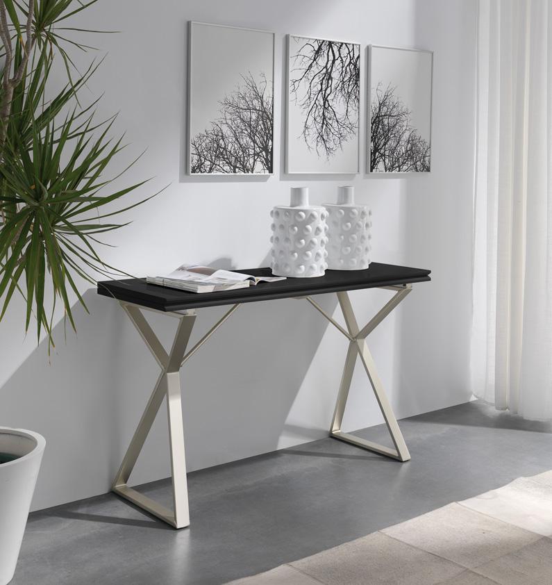 Mesa cocina blanca madrid for Mesa ayudante de cocina