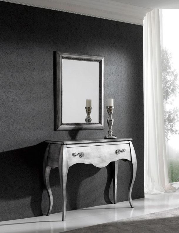 Consola o espejo madera Haya 2 - Consola o espejo de chapa de Haya