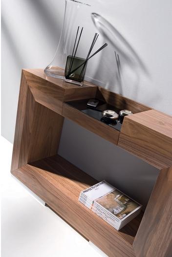 Consola con forma de cuadro ó espejo - Consola con forma de cuadro, agujero central o espejo