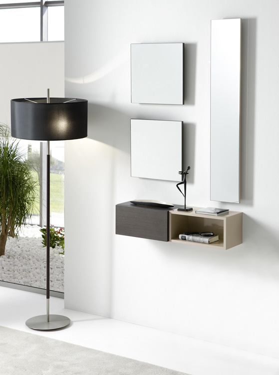M dulos de colgar individuales madrid modernos for Muebles de entrada de diseno