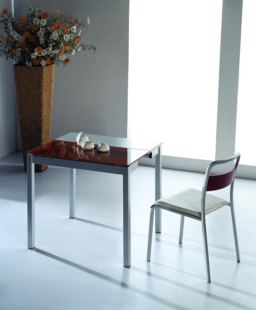Mesa comedor pequea extensible elegant mesa comedor for Comedor para espacios pequea os
