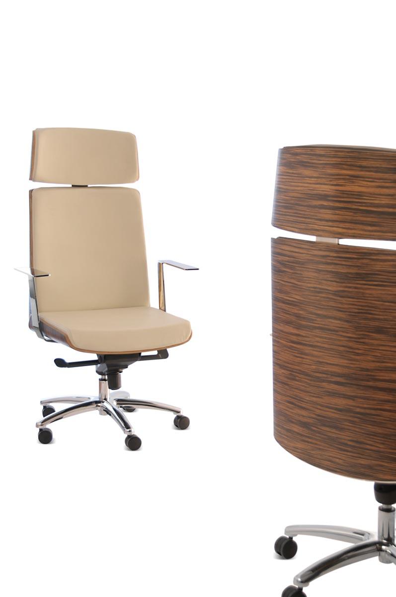 Silla oficina regulable en altura e inclinaci n con ruedas for Altura silla