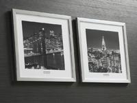 Set de cuadros Nueva York de noche