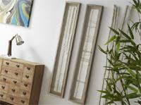 Set de cuadros relieve abstracto - Cuadros con  marco