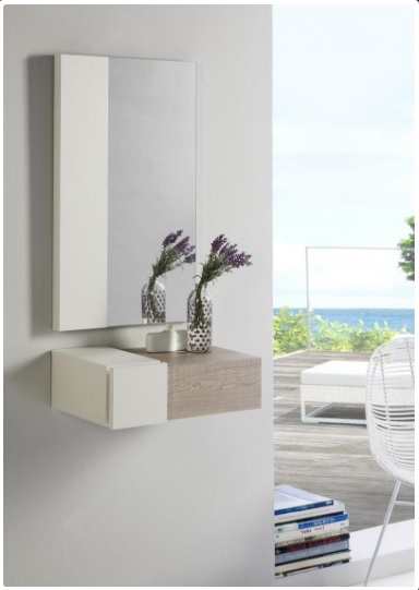 Mueble para la entrada con espejo muebles madrid - Mueble para la entrada ...