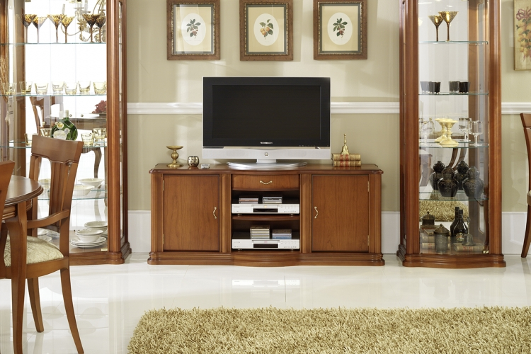 Tv mesa de dise o madrid for Diseno muebles para living