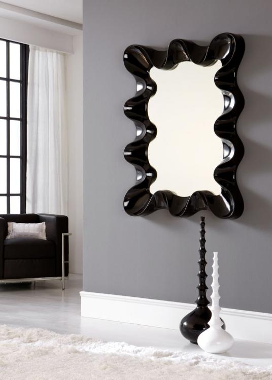 Espejo marco moderno valencia for Espejos murales decorativos