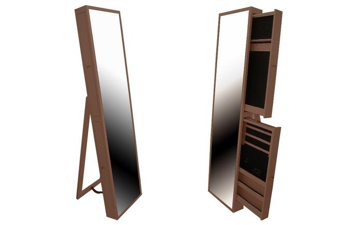 Espejo joyero de dise o cantabria for Espejos de pie de madera