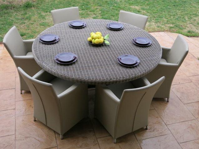 Conjunto de comedor de jardín - Conjunto de comedor para exteriores