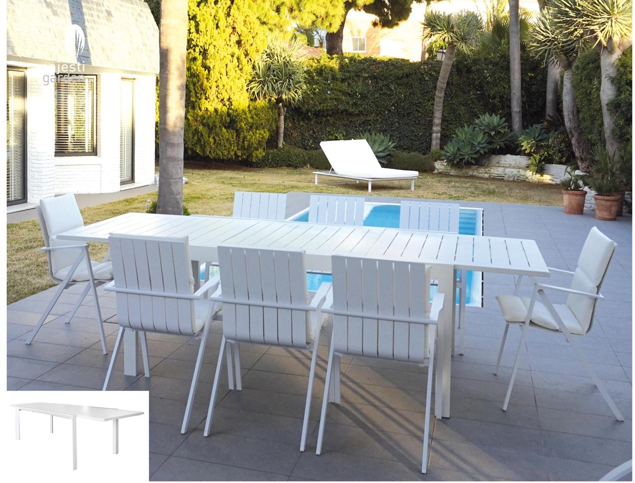 mia home Juego de mesa y sillas para exterior modelo MELBOURNE de ...