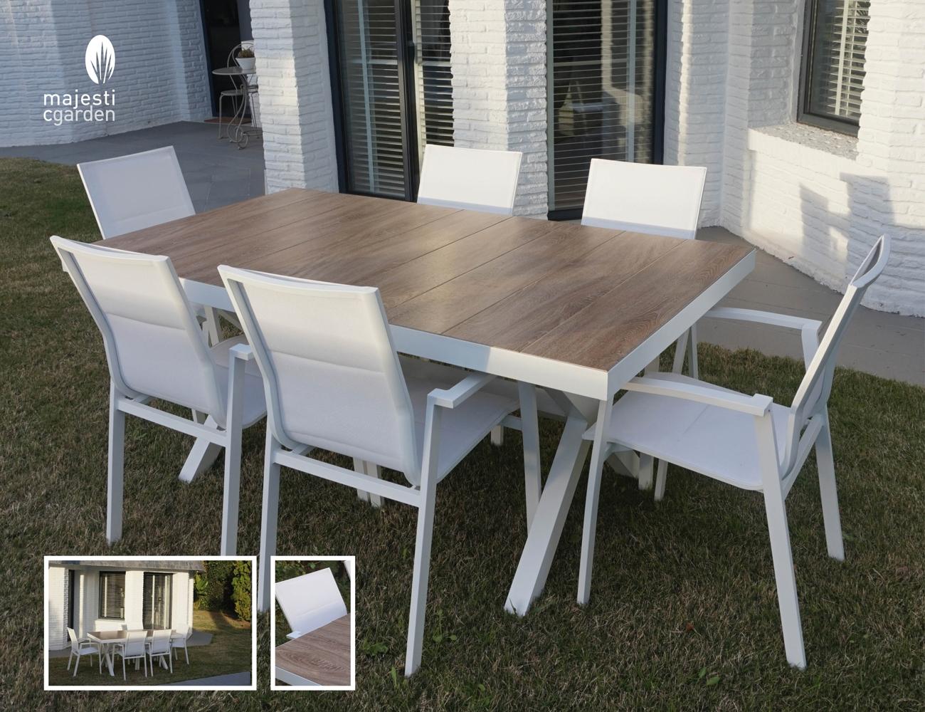 mia home juego de mesa y sillas para exterior modelo