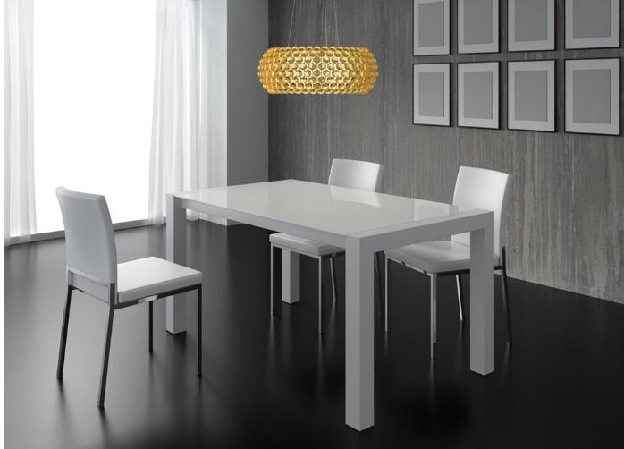 Conjunto mesa cristal y 4 sillas matar - Muebles en mataro ...