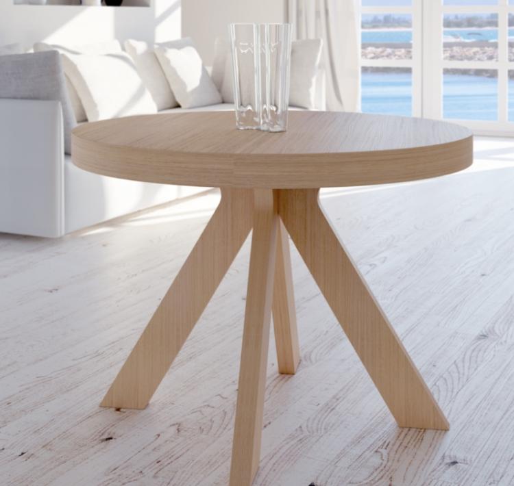 mesa extensible redonda oval alicante murcia