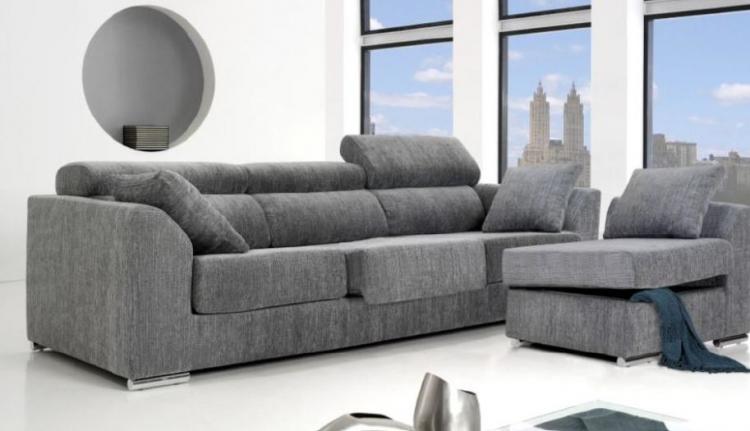 Chaiselongue moderna Puzzle - Sofá moderno.