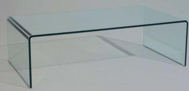 Mesa baja centro moderna valencia cristal - Mesa baja cristal ...