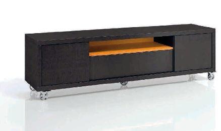 Mesa baja moderna valencia for Mesas para tv modernas