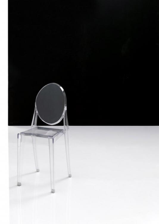 Silla transparente metacrilato moderna elegante galicia for Sillas metacrilato transparente