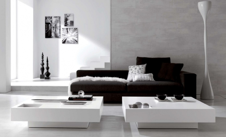 Mesas bajas de salon de dise o casa dise o for Mesas plegables salon diseno