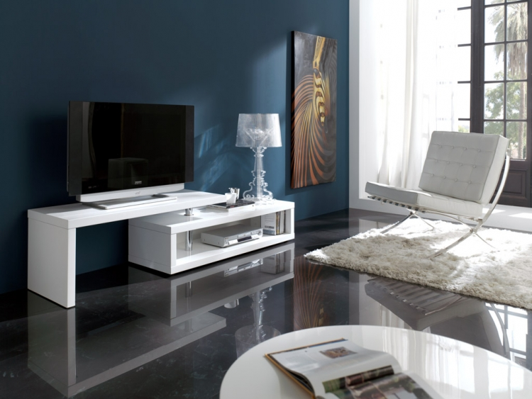mesa tv salon configurable malaga. Black Bedroom Furniture Sets. Home Design Ideas