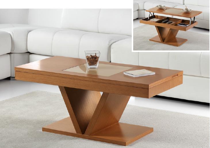 Mesa de Centro elevable 252 - Mesa de Centro elevable 252, disponible en diferentes tipos de acabados.