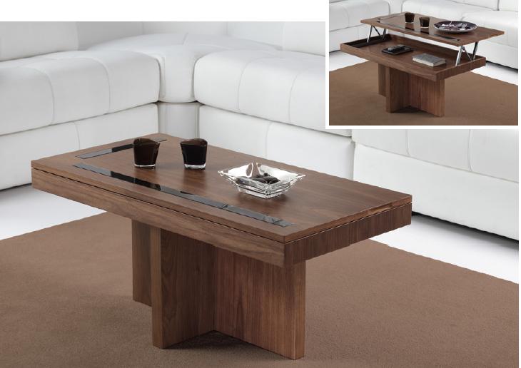 Mesa de Centro elevable 258 - Mesa de Centro elevable 258, disponible en diferentes tipos de acabados.