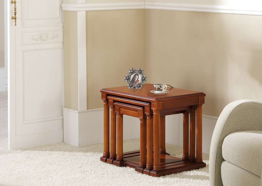 Set de mesa nido clasica 459 - Set de mesa nido clasica 459, disponible en diferentes tipos de acabados.