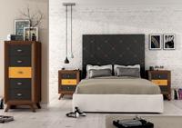Juego de Dormitorio Vintage 1 - Juego de Dormitorio Vintage Compo 1, fabricado en madera de alta calidad, excelentes detalles.