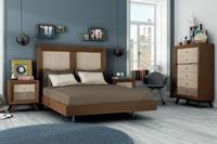 Juego de Dormitorio Vintage 5 - Juego de Dormitorio Vintage Compo 5, fabricado en madera de alta calidad, excelentes detalles.