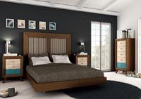 Juego de Dormitorio Vintage 7 - Juego de Dormitorio Vintage Compo 7, fabricado en madera de alta calidad, excelentes detalles.