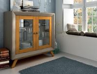 Aparador Vintage AP102 - Aparador 2 puertas Vintage, fabricado en madera de alta calidad, excelentes detalles.
