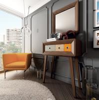 Consola o Espejo Vintage ENT01 - Consola o espejo Vintage, fabricado en madera de alta calidad, excelentes detalles.