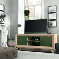 Mesa de TV Vintage TV150P - Mesa TV 2 puertas Vintage, fabricado en madera de alta calidad, excelentes detalles.