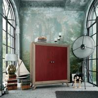 Armario Vintage V501 - Armario 2 puertas Vintage, fabricado en madera de alta calidad, excelentes detalles.