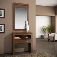 Consola y espejo de chapa Cerezo 8 - Consola y espejo de chapa de Cerezo