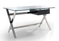 Mesa escritorio patas cruzadas en colores - Mesa de  escritorio