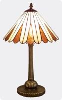 Lámpara Tiffany de sobremesa clásica 2 - Lámpara de sobremesa con diseño clásico